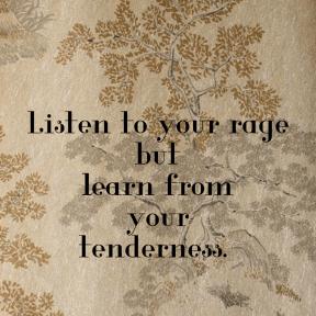 Words of Wisdom (Listen to Your Rage)