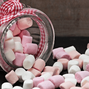 Product,                Confectionery,                Marshmallow,                White,                Black,                Red,                 Free Image