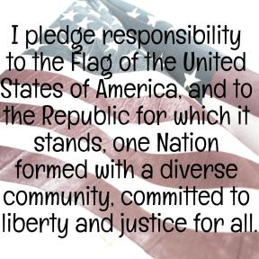 Revised pledge