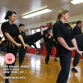 Kung Fu Kicking