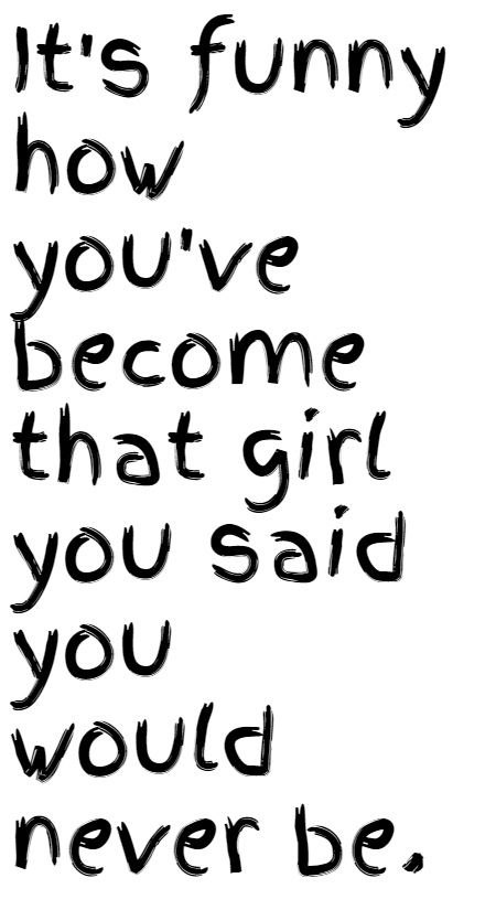 Girl,                Changed,                Neverbeher,                White,                Black,                 Free Image