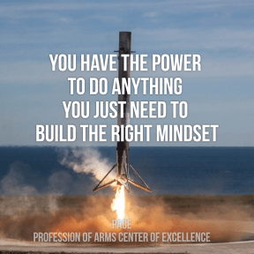 You have the power to do anything you just need to build the right mindset