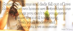 #JamesTW #lyrics #falloutoflove #sometimes #betterthanone #tooyoung #understand