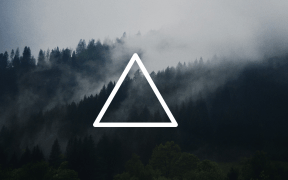 Triangle-forest-wallpaper