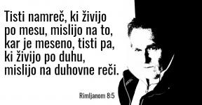 Rimljanom 8-5