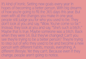 #ironic #newyear #goals #change #past #judge #different #secondchance