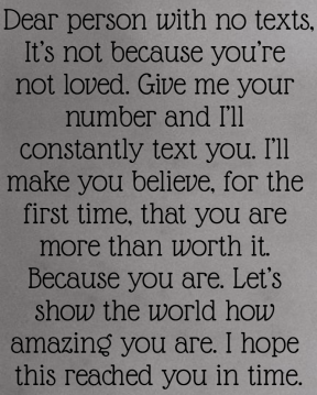 #person #letter #text #number #worthit #intime #loveyou #dontknowyou #believe #amazing