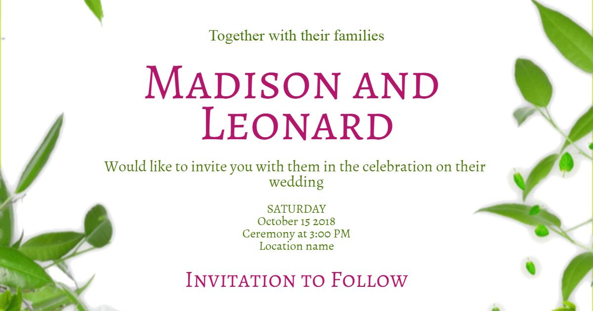 Invitation, Wedding, Love, Ceremony, Marriage, White,  Free Image