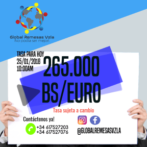 Global Remesas Vzla Madrid-España