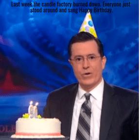 Stephen Colbert birthday