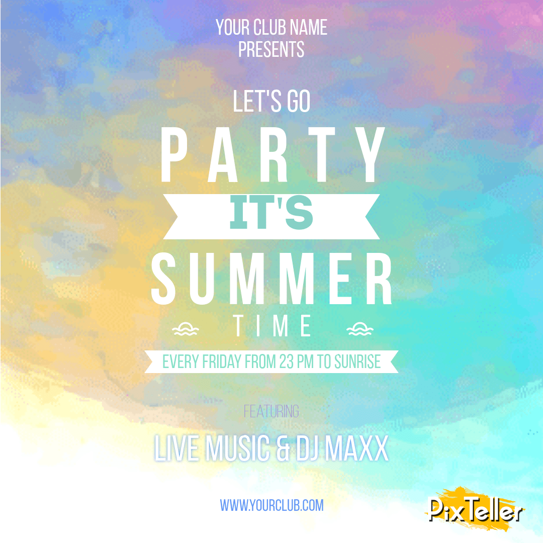 Text,                Sky,                Font,                Poster,                Atmosphere,                Graphic,                Design,                Energy,                Invitation,                Party,                Summer,                Summertime,                Vibes,                 Free Image