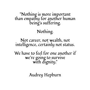 Audrey Hepburn ~ Survival with Dignity