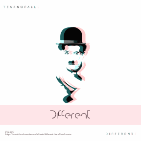 #different #poster