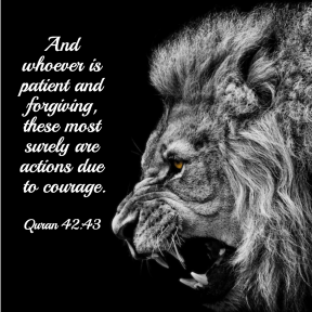 Quran 42:43