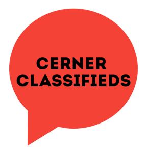 Cerner Classifieds