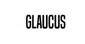 Glaucus Bright White Black logo