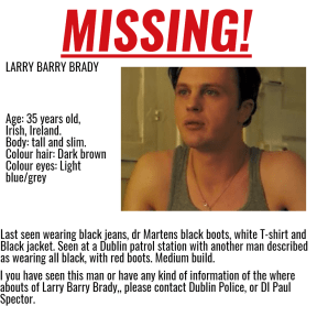 Larry brady missing