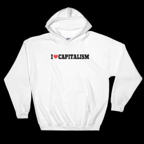 I heart capitalism sweatshirt