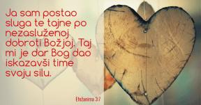 Efezanima 3:7