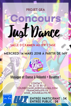 Flyer Just Dance
