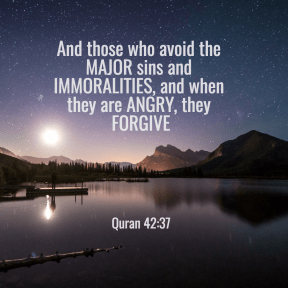 Quran 42:37