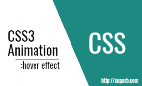 CSS3 transition-hover effect