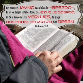 Rimljanom 10:9