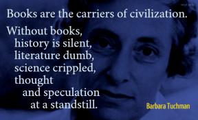 Tuchman - books carriers civilization