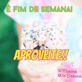 #fimdeseman#aproveite#talmeninatalboneca