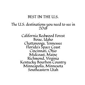 Best in the U.S.