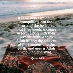 Quran 48:4