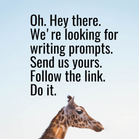 Writing Prompt Advert