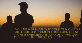 Harlan Ellison quote