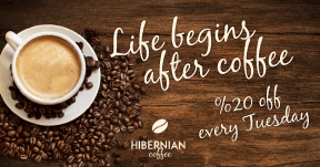 #coffee #square #promotion