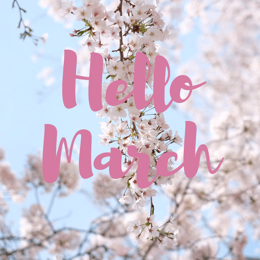 Hello March Design  Template