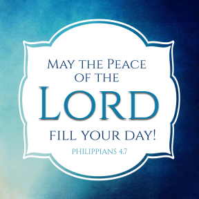 peace of the lord