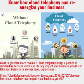 cloud telephony for business growth
