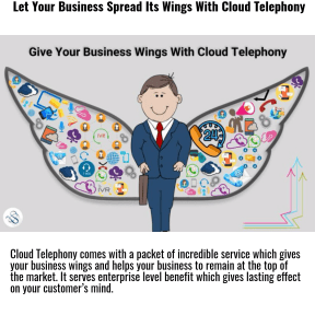 Give your buisness wings with cloud telephony