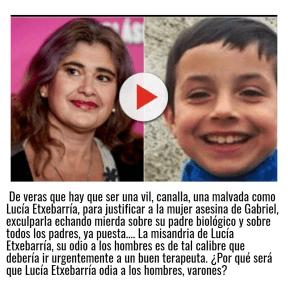 Lucía Etxebarría, vil canalla