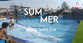 birla City Water Park Start The Fun
