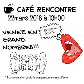 Café rencontre 2018 Février