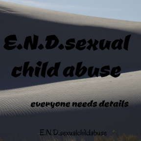 E.N.D.sexualchildabuse