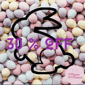 #promoção#happyeaster#30%off#talmeninatalboneca