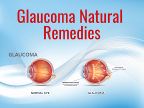 Glaucoma Natural Remedies1