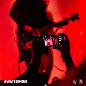 #Follow #Photo #edges #UNSPLASHIMAGE #rock #light #concert #circles
