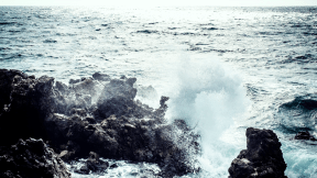 #Photo #Effects #Filters #ImageEffect #PhotoFilters #of #rock #along #wind #landforms #A #ocean #breaking #rocks #coastal