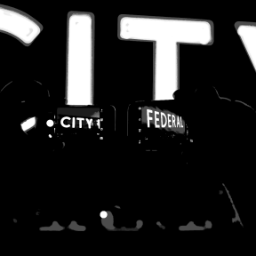 """#Photo #Effects #Filters #ImageEffect #PhotoFilters #neon #with #deejay #""""City"""" #photos #sign #A"""