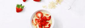 #Photo #FreePhoto #recipe #food #UNSPLASHIMAGE #strawberries #strawberry #dessert #fruit #superfood #flavor