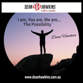 i am you are we are The Possibility
