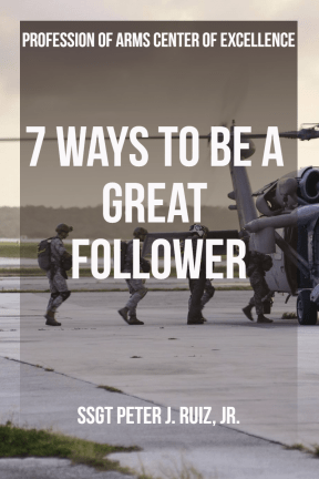 7 Ways to Be a Great Follower